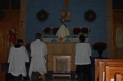 Eucharistic Adoration at Our Lady of Fatima Parish