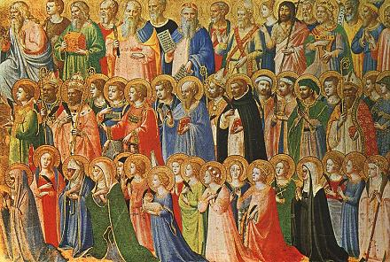 November 1 – All Saints' Day