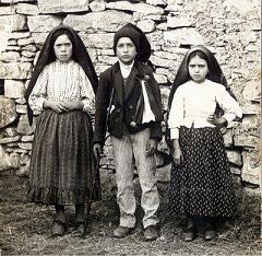Lucia, Francisco and Jacinta - Fatima, Portugal