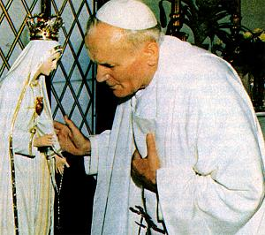 Visit of John Paul II to Fatima Shrine