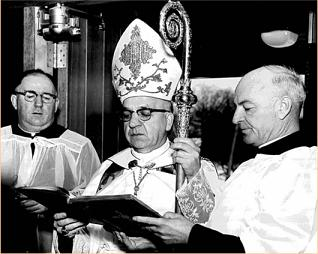 First Mass at Our Lady of Fatima Parish - March 4, 1962