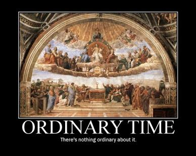 Proper time or Ordinary Time